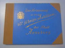 Zur Erinnerung an das 400 jährige Jubiläum der Stadt Annaberg /Erzgebirge 1896