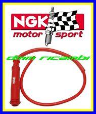 Cavo candela in silicone NGK RACING rosso cappuccio attacco pipetta SD05EMK CR3
