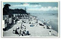 Vintage Picture Postcard The Chalets Shoeburyness Essex