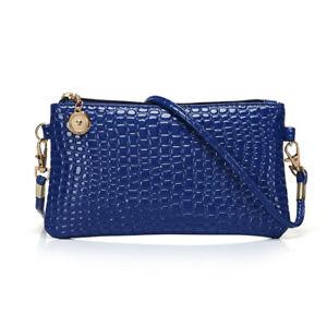 1pc Women PU Handbag Purse Zipper Small Messenger Crossbody Bag Shoulder Bag