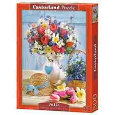 "Castorland Puzzle 500 Pieces SPRING IN FLOWER POT 18.5"" x13"" Sealed box B-53520"