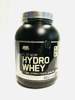 Optimum Platinum HYDROWHEY 100% Whey Isolate Protein BCAA's EAAs COOKIES & CREAM