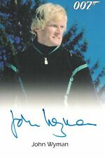 James Bond 50th Anniversary: John Wyman (Eric Kriegler) autograph