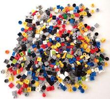 LEGO PIASTRE 1X1 MINUTERIA 500 PEZZI MISTI LOTTO PLATE SET SPED GRATIS +ACQUISTI