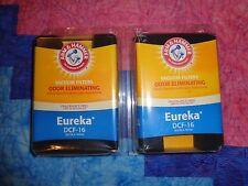 4 Arm & Hammer Eureka Vacuum Filters DCF-16 Odor Eliminating Lot of 2-2 Packs