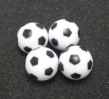 FAST SHIP 4PCS ;BLACK&WHITE 36mm SOCCER TABLE FOOSBALL footBALL babyfoot ball