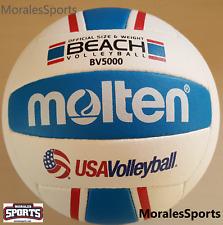 Molten BV5000-3 Elite Beach Volleyball Red/White/Blue US Seller