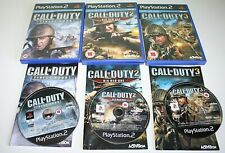 Sony Playstation Call Of Duty Game Bundle PS2 Console Gaming