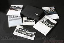 Audi a7 Sport back bordmappe bordo libro MMI manual de instrucciones + MMI DVD alemán