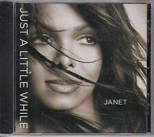 Janet Jackson Just A Little While RARE 5 track promo DJ CD single '04
