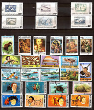 GRENADA,GRENADINES tableaux, animaux,instruments de musiques, divers  279T5