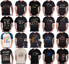 Official Pink Floyd T Shirt Dark side of the Moon Variations Band Logo new Mens