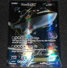 Steelix EX 108/114 XY Steam Siege Set NEAR MINT Pokemon Card FULL ART