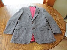 Harris Tweed Blazer jacket  size 42 Regular Two Button