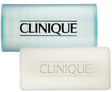3 SET Clinique Acne Solutions Cleansing Bar Face Body Soap 5.2oz SEALED IN BOX