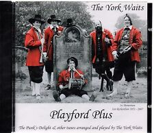 The York Waits - Playford Plus (brand new CD 2007)