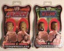 WWE ECW RAW Wrestling Thumb Wrestler Figures Thumbwrestlers Triple H Big Show
