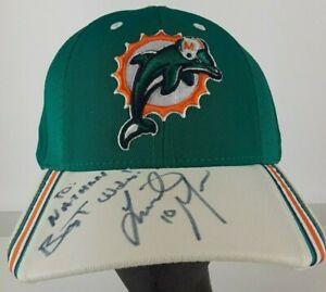 Miami Dolphins Reebok NFL Equipment Hat Cap Olindo Mare #10
