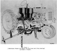 IH McCormick Farmall Super C 200 C-280 Runner Planter Side Dresser Owners Manual