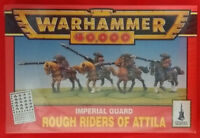 Warhammer 40K - GW, Citadel - 0440 Imperial Guard Rough Riders of Attila (Mint)