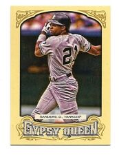 2014 TOPPS GYPSY QUEEN DEION SANDERS BASEBALL CARD #114 - YANKEES!