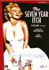 The Seven Year Itch DVD Marilyn Monroe Tom Ewell 1955 R0