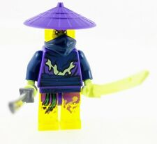 LEGO Ninjago Cowler Ghost Ninja Warrior Minifigure with Swords NEW 70736