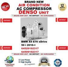 DENSO AIR CONDITION AC COMPRESSOR BMW X5 E70 xDrive 50 i 2010-> OEM: 64529192317
