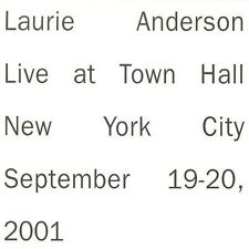 Laurie Anderson: Live at Town Hall New York City 2 CDS