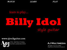 Custom Guitar Lessons, Learn Billy Idol - DVD Video