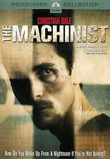 The Machinist ~ Christian Bale Jennifer Jason Leigh ~ DVD WS ~ FREE Shipping USA