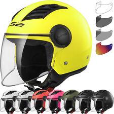 Helmet Jet LS2 Airflow Of562 Black Matt Size M