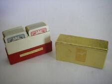 PIATNIK AUSTRIA ANCIEN petit jeu de cartes 2 jeux complets boite playing cards