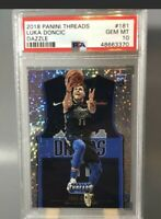 LUKA DONCIC RC 2018-19 Panini Threads Dazzle #181 Rookie PSA10 👀
