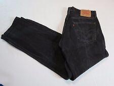 Vintage Men's Levi's BLACK  501  MADE IN THE USA 34 X 312  NICE VINTAGE 501-0660