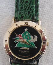 Christmas Tree Wristwatch Pierre Nicole MontreArbre de Noel usagée