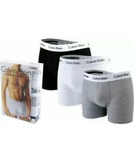 Calvin Klein Men's CK Boxers 3 in a pack Grey,Black and White