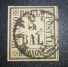 Antichi Stati Romagne 5 Bai usato cat. 650 euro