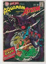 Brave and the Bold # 73 [vol.1]  Aquaman & The Atom, DC Comics, September, 1967!