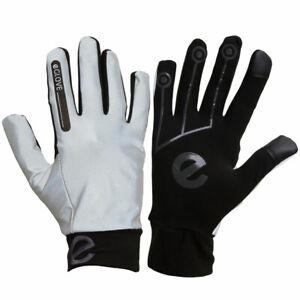 eGLOVE Run - XTREME Hi-VIS Ultra Warm Gloves - Black / Grey - HIGHLY REFLECTIVE!