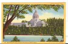 Undated Unused Postcard Washington State Capitol Building Olympia Washington Wa