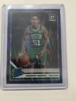 2019-20 Donruss Optic Rated Rookie Purple Shock #185 Tremont Waters RC Celtics