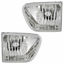 FOUR WINDS HURRICANE 2000 2001 2003 PAIR HEADLIGHTS HEAD LIGHTS FRONT LAMPS RV