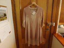 Witchery Scooped Back Beige Dress ~ New with Tags ~ Size S or 10