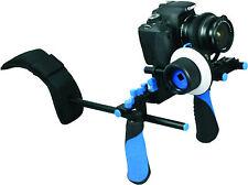 NUOVO DSLR RL-02 mano Pro e spalla Rig video con scatola OPACO e Follow Focus