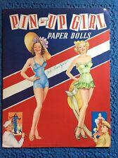 Pin-Up Girl Paper Dolls/Saalfield#355/year1 945/Uncut