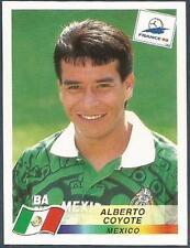 PANINI WORLD CUP FRANCE 1998- #363-MEXICO-ALBERTO COYOTE