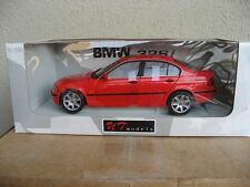 UT 1:18 1998 BMW 328i E46 SEDAN RED. VERY RARE. NIB