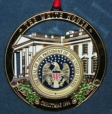 Christmas 1996 The White House Historical Association Ornament w Box Paperwork