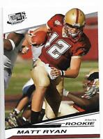2008 Press Pass SE Matt Ryan rookie card, Atlanta Falcons All-Pro